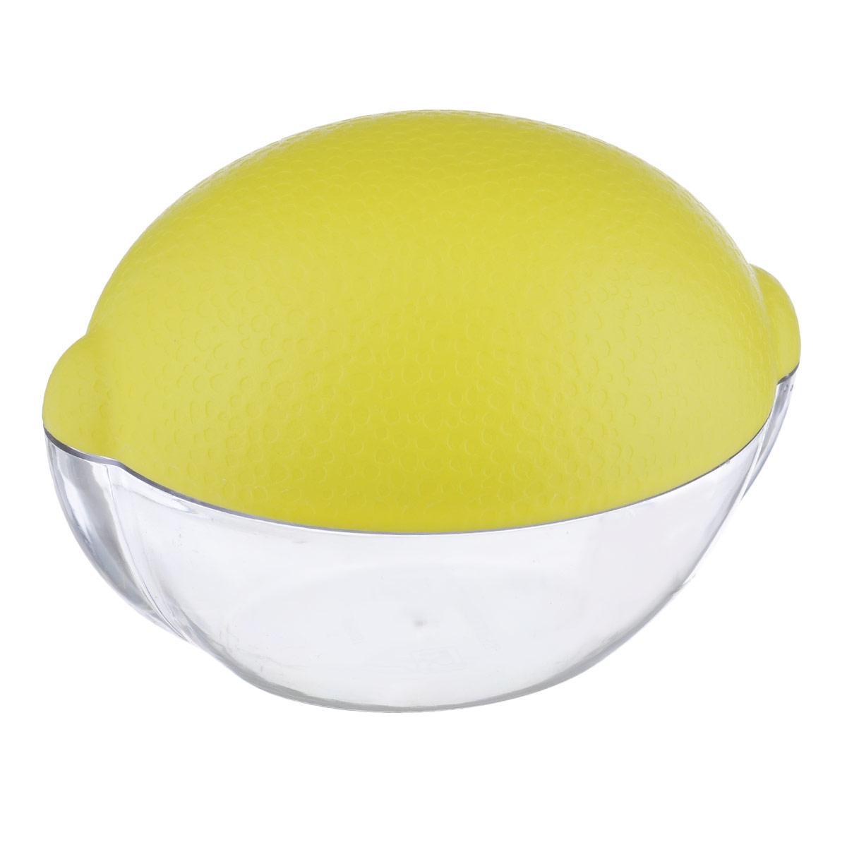 Контейнер для лимона Phibo, цвет: прозрачный, желтыйС12183Контейнер для лимона Phibo изготовлен из высококачественного прочного полистирола в виде лимона. Такой контейнер - это уникальное полезное приобретение для тех, кто привык к порядку в холодильнике. Такой чехол сохранит вкусовые качества лимона и предохранит его от заветривания.