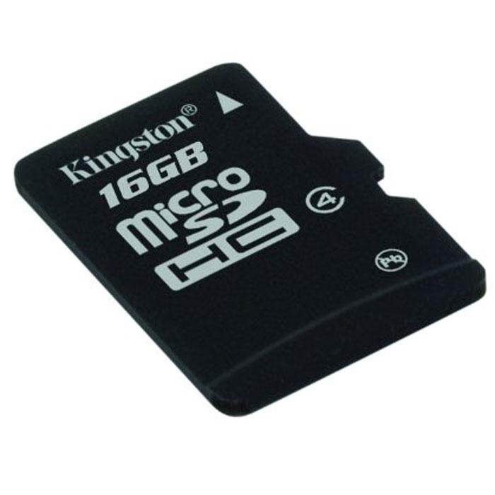Kingston microSDHC Class 4 16GB карта памятиSDC4/16GBSPКарты microSDHC позволяют хранить большие объемы музыки, видео, изображений, игр в современных мобильных устройствах. Флэш-карты microSDHC относятся к 4 скоростному классу, т.е. максимальная скорость передачи данных составляет 4 Мб/с.По размерам карты microSDHC совпадают с картами microSD, но совместимы только с устройствами, поддерживающими стандарт microSDHC в соответствии со спецификацией SD Specification Version 2.0. Карты microSDHC можно использовать с адаптером (продаётся отдельно) как полноразмерные карты SDHC.Внимание: перед оформлением заказа, убедитесь в поддержке Вашим электронным устройством карт памяти данного объема.