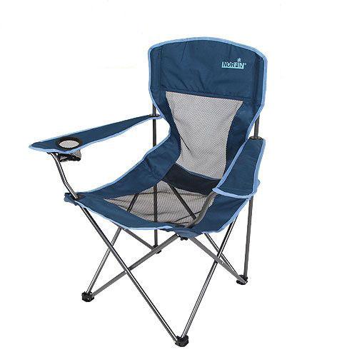 Кресло складное Norfin Raisio NFL, цвет: синий, 54 см х 42 см х 95 см термосумка norfin luiro m nfl цвет голубой 43 см х 25 см х 27 см