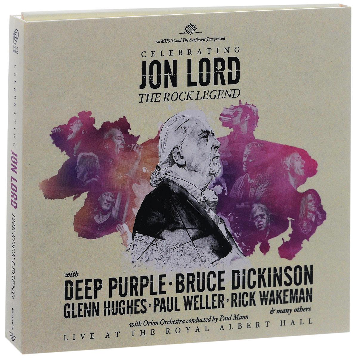 Джон Лорд,Deep Purple Jon Lord. Celebrating Jon Lord. The Rock Legend (2 CD) deep purple deep purple stormbringer 35th anniversary edition cd dvd