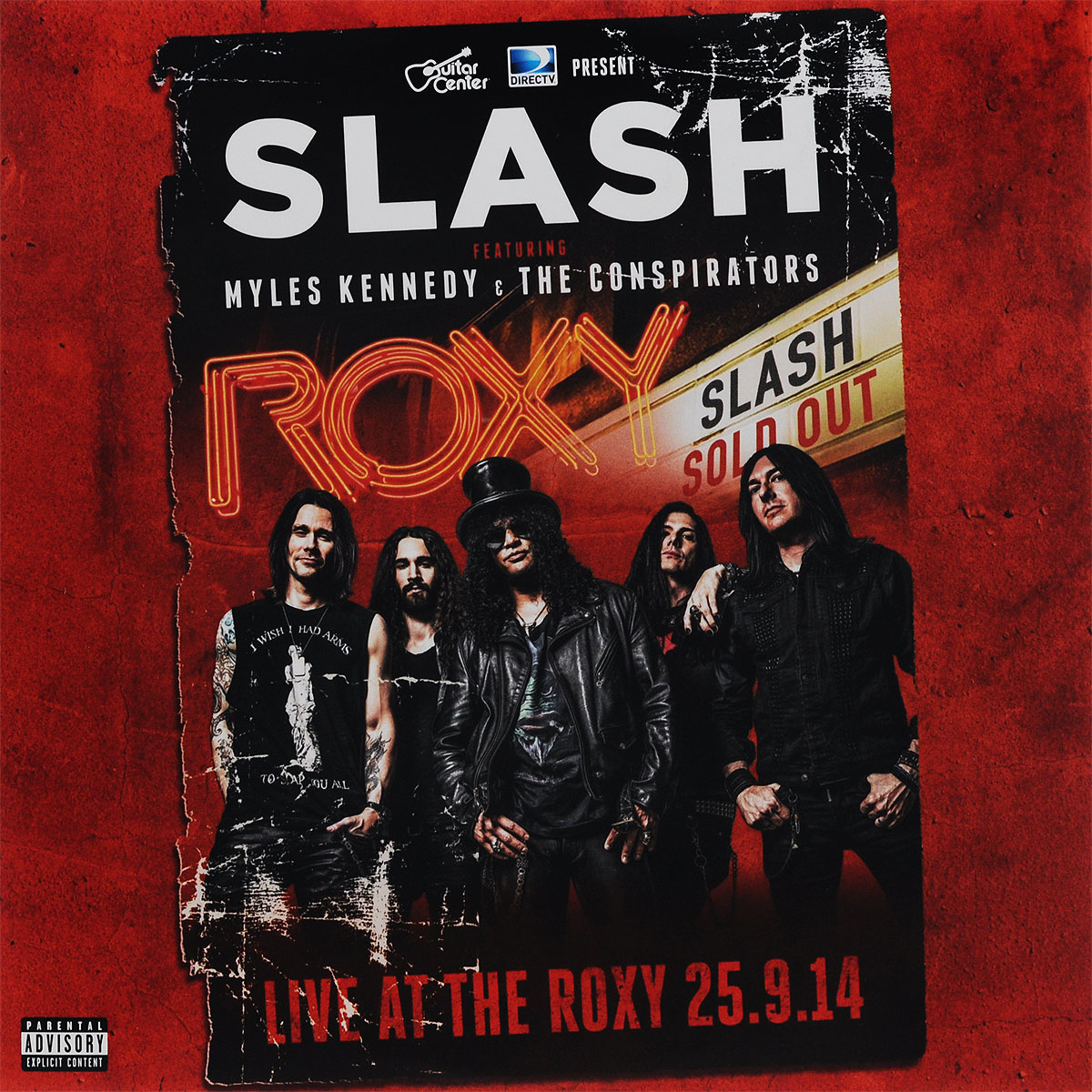 Slash,Майлс Кеннеди,The Conspirators Slash Featuring Myles Kennedy & The Conspirators. Live At The Roxy 25.09.14 (3 LP)