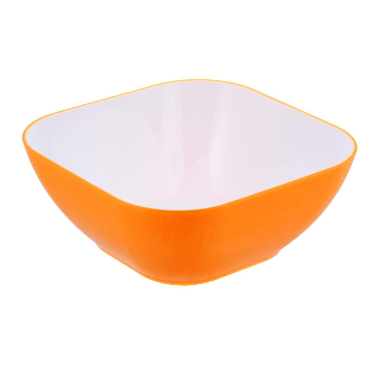Пиала Bradex, цвет: оранжевый, 1,2 лTK 0133Пиала Bradex выполнена из цветного пищевого пластика, устойчивого к действию уксуса, спирта и масел. Пиала прочная и стойкая к царапинам. Благодаря высококачественным материалам она не впитывает запахи и не изменяет вкусовые качества пищи. Идеально подходит как для домашнего использования, так и для пикников. Яркий салатник создаст веселое летнее настроение за вашим столом, будь то домашний обед или завтрак на природе. Пиала настолько легка в уходе, что не отнимет у вас ни секунды лишнего времени, отведенного на послеобеденный отдых.Стильный и функциональный дизайн, легко моется. Объем: 1,2 л.