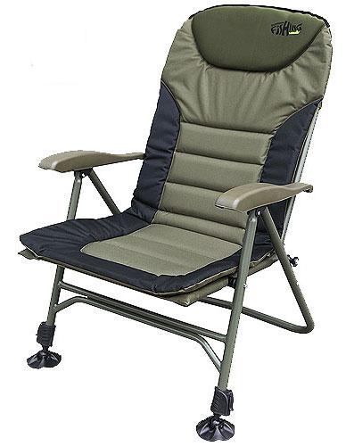Кресло карповое Norfin Humber NF, цвет: хаки, 70 х 63 х 105 см кресло norfin карповое humber nf