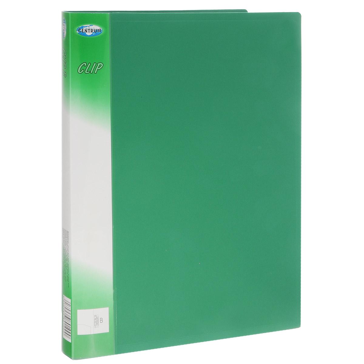 Centrum Папка Clip с боковым зажимом цвет зеленыйFS-36052Папка с боковым зажимом Centrum Clip - это удобный и практичный офисный инструмент, предназначенный для хранения и транспортировки рабочих бумаг и документов формата А4.Папка изготовлена из высококачественного плотного полипропилена и оснащена металлическим зажимом и внутренним кармашком.Папка с боковым зажимом - это незаменимый атрибут для студента, школьника, офисного работника. Такая папка надежно сохранит ваши документы и сбережет их от повреждений, пыли и влаги.
