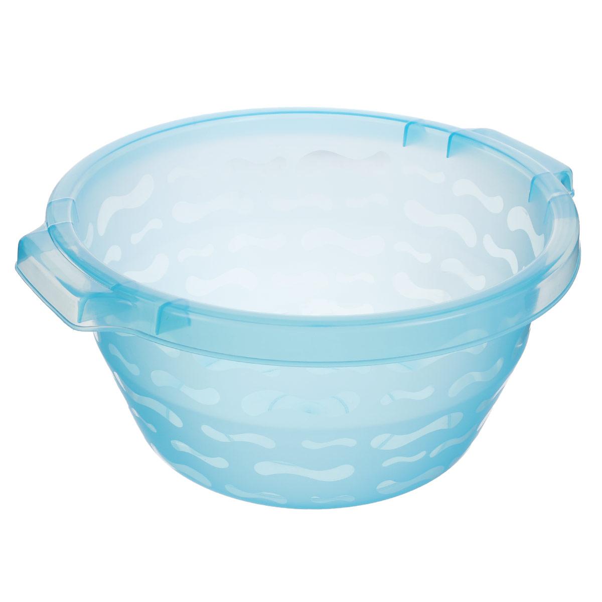Таз Gensini, цвет: голубой, 8,5 л2430_голубойТаз Gensini изготовлен из высококачественного полупрозрачного пластика. Он выполнен в классическом круглом варианте. Для удобного использования таз снабжен двумя ручками. Благодаря легкости и современному дизайну таз Gensini станет незаменимым помощником и отлично впишется в интерьер вашей ванной комнаты.Диаметр таза по верхнему краю: 32 см.Высота таза: 16 см.