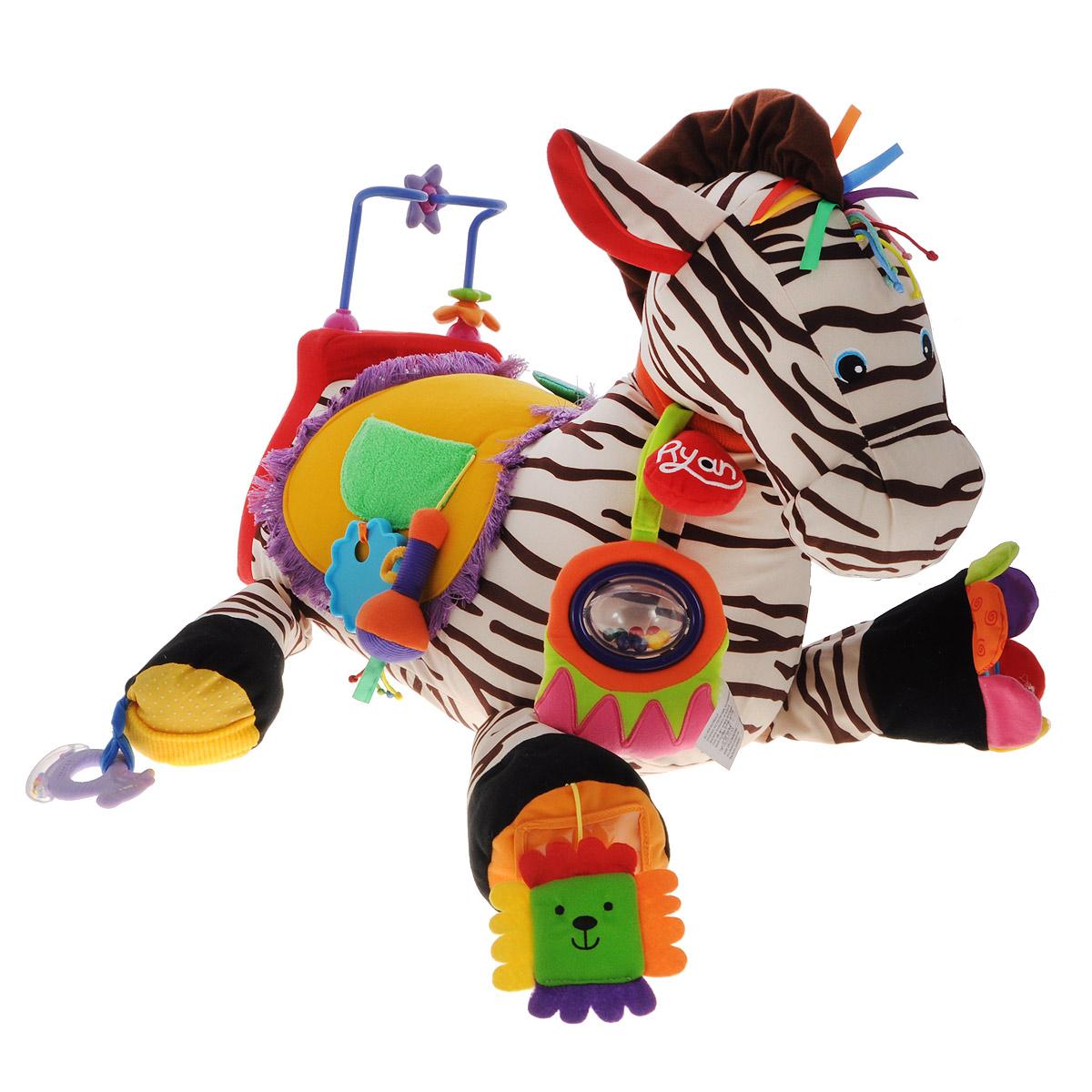 Развивающая игрушка K'S Kids Зебра 28, со звуковыми эффектами k s kids игровой набор зебра 28 с 6 месяцев
