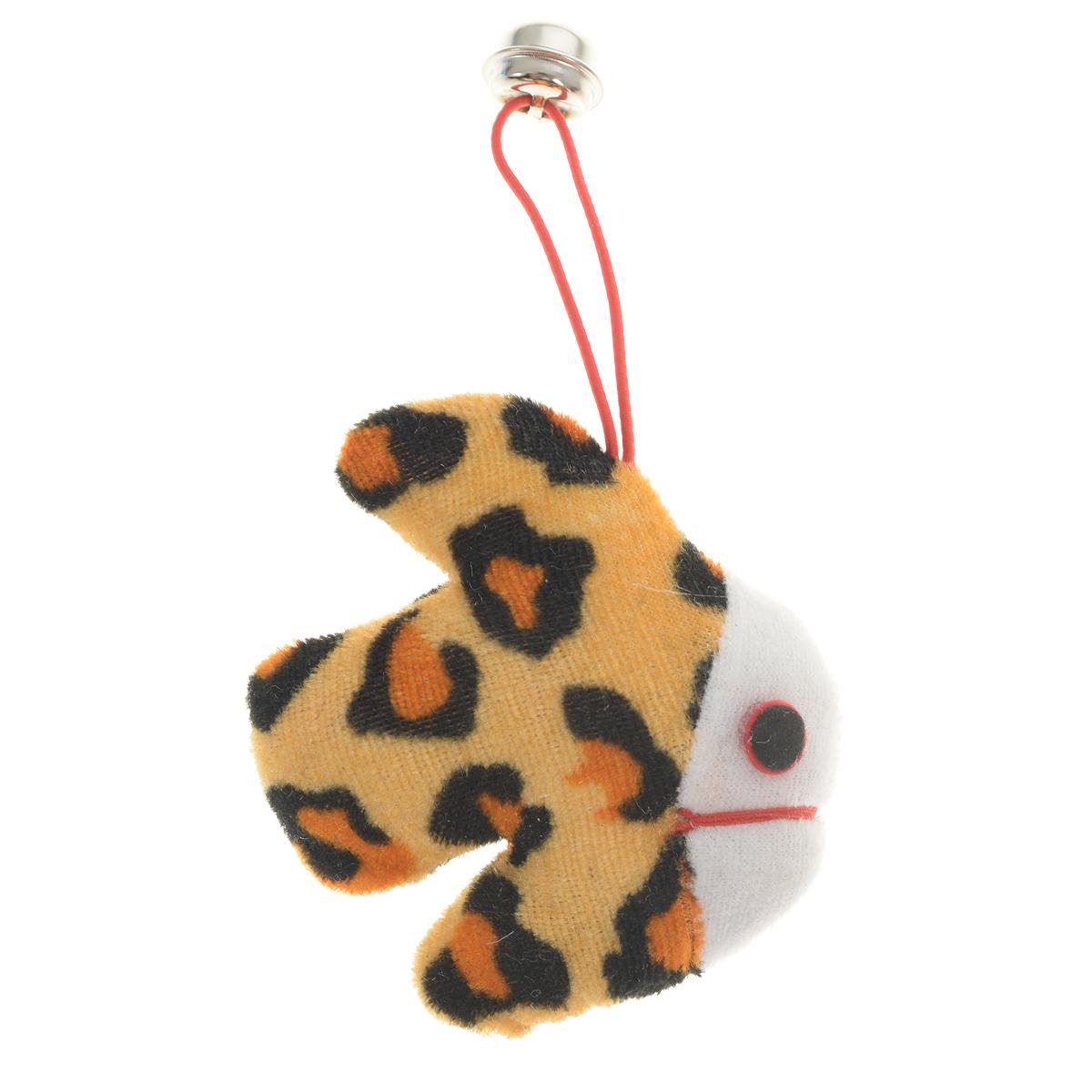 Игрушка для кошки V.I.Pet Рыбка, с мятойC-101Игрушка V.I.Pet Рыбка изготовлена из текстиля в виде рыбки с бубенчиком и наполнена кошачьей мятой. Кошачья мята (Котовник) - растение, запах которого делает кошку более игривой. Очень агрессивные и легко возбудимые кошки становятся более спокойными и уравновешенными.С помощью этого средства кошка легче перенесет путешествие на автомобиле, посещение ветеринарного врача или переезд животного на новую квартиру.