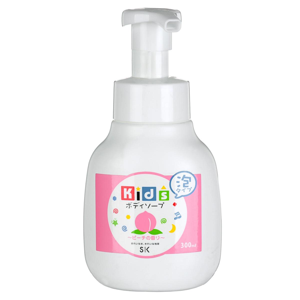 SK Kids Детское пенное мыло для тела с ароматом персика, 300 мл2606132023Воздушное детское пенное мыло порадует вашего малыша сочным ароматом персика и мыльными пузырьками! Оно очистит детскую кожу и обеспечит полноценный уход за ней. Абсолютно безопасно. Экстракт персика, в составе пенки, увлажнит и окажет противовоспалительное действие на нежную кожу. Не содержит ПАВ, искусственных красителей, ароматизаторов, антиоксидантов, поэтому мыло необходимо хранить в местах, защищенных от прямых солнечных лучей, высокой температуры и влажности. Проверено дерматологами.