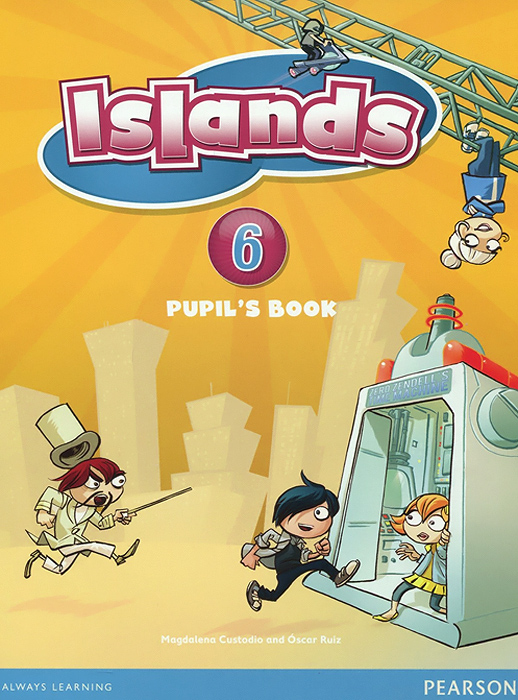 Islands Level 6 Pupil's Book + pin code islands level 1 activity book plus pin code наклейки