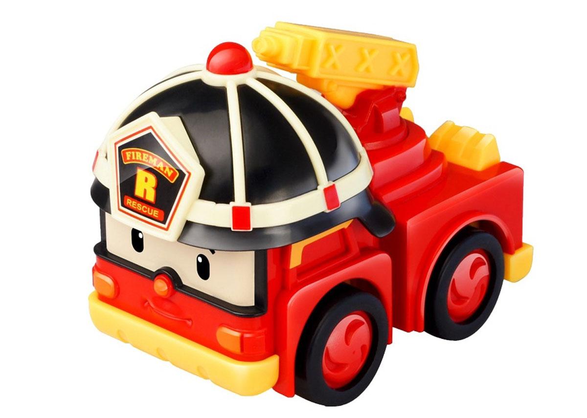 Robocar Poli Игрушка-трансформер Рой с аксессуарами машинка трансформер robocar poli рой