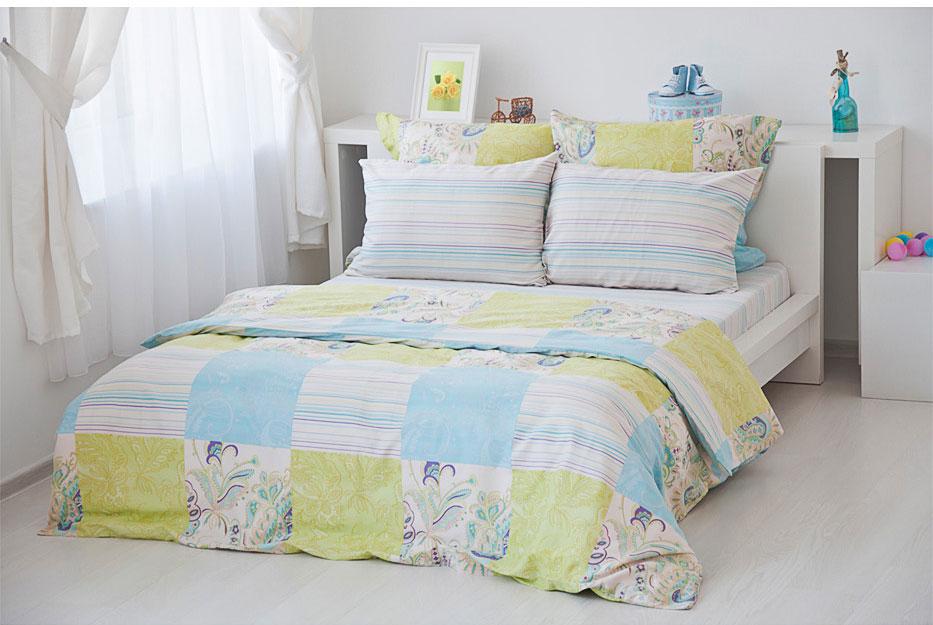 Комплект белья Tete-a-Tete Classic Кудрин, 1,5-спальный, наволочки 70х70. Т-2104-01 комплект постельного белья quelle tete a tete 1010965 2сп 70х70 2