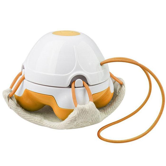 Массажер-мочалка ручной Medisana HM 840, цвет: оранжевый, белый00000728Массаж очень приятная и полезная процедура. Теперь вы можете осуществлять его самостоятельно прямо во время приема душа. Воспользуйтесь компактным и удобным массажером-мочалкой Medisana HM 840. Насладитесь приятным массажем и, если хотите, совместите его с процедурой пилинга!Массажер мочалка Medisana HM 840 осуществляет вибрационный массаж. Благодаря водонепроницаемой конструкции, его можно использовать в душе. Массажер имеет компактные размеры, берите его с собой в путешествия и делайте массаж в любом удобном месте.Medisana HM 840 оснащен легкосъемным двухсторонним массажным ковриком из флиса. Одна из сторон этого коврика состоит из люфы, что при использовании дает отличный пилинг эффект. Массажер позволит сделать пилинг тела и лица в домашних условиях, повысит упругость кожи, позволит предотвратить варикозное расширение вен и избавиться от апельсиновой корки.Удобное использование (без сторонней помощи) на любых участках телаАмплитуда воздействия - до 2000 вибраций в минутуКорпус выполнен из высококачественной не токсичной пластмассыЭргономичная форма, удобный захват ладонью (поверхность не скользит в мокрых руках)Водонепроницаемая конструкция, что позволяет использовать прибор во время принятия душа или ванныМинимальные массогабаритные параметры (8х8х7см), благодаря чему аппарат не займет много места в рюкзаке во время отпускаБез насадки-мочалки массажер представляет собой конструкцию с 4-мя вибрационными шариками для глубокого воздействия на проблемные участки кожи.
