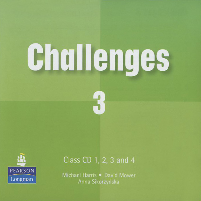 Challenges 3: Class CD (аудиокурс на 3 CD) english learning and teaching in taiwan