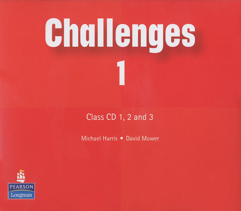 Challenges 1: Class CD (аудиокурс на 3 CD) english learning and teaching in taiwan