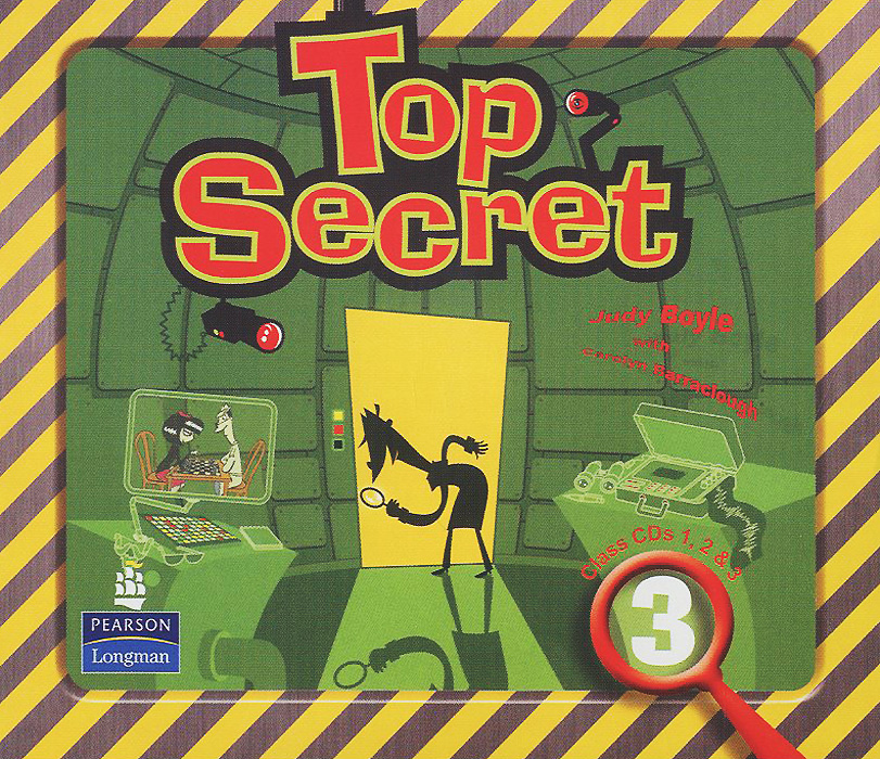 Top Secret 3: Class CDs (аудиокурс на 3 CD) vale 3 teachers book