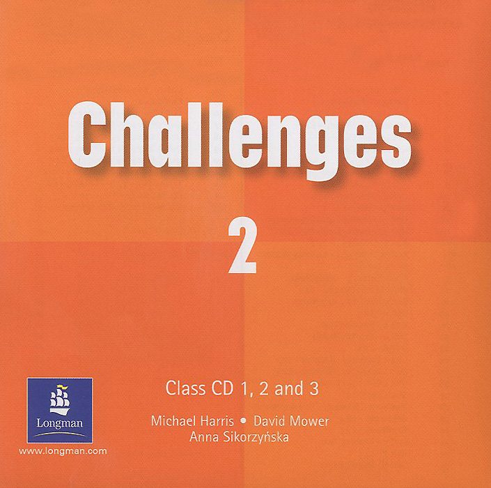 Challenges 2: Class CD (аудиокурс на 3 CD) english learning and teaching in taiwan