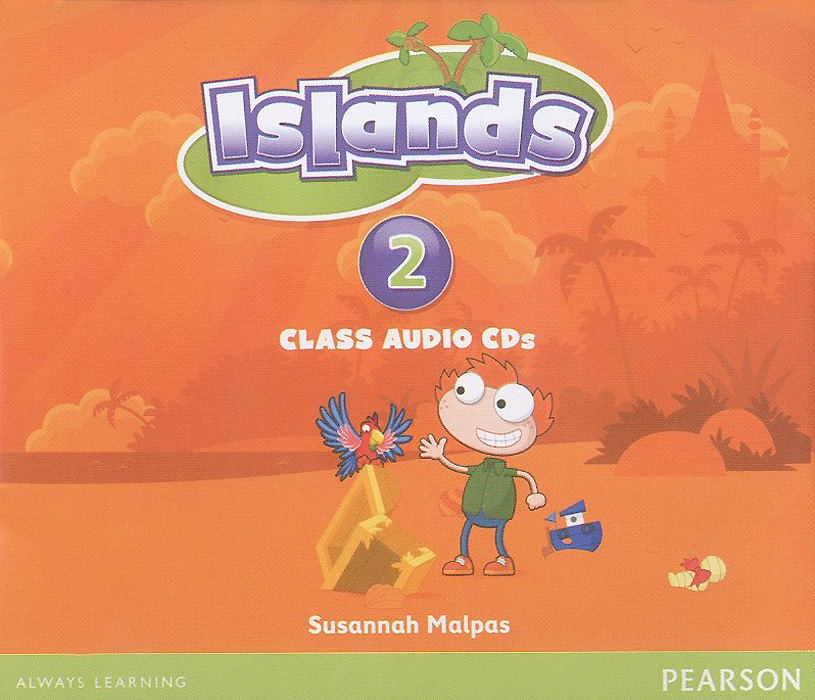 Islands: Level 2: Class Audio CDs (аудиокурс на 4 CD) touchstone teacher s edition 4 with audio cd