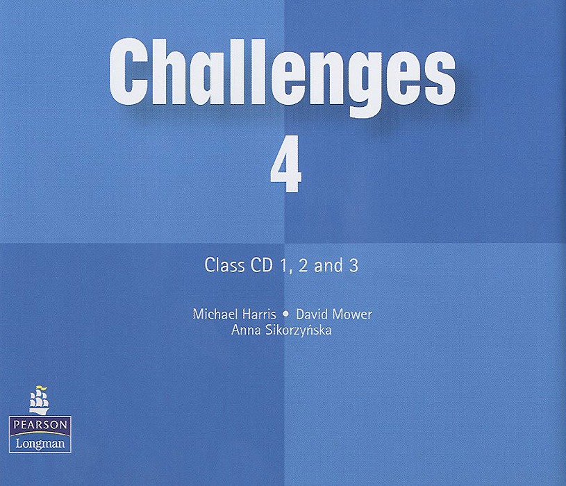Challenges 4: Class CD (аудиокурс на 3 CD) english learning and teaching in taiwan