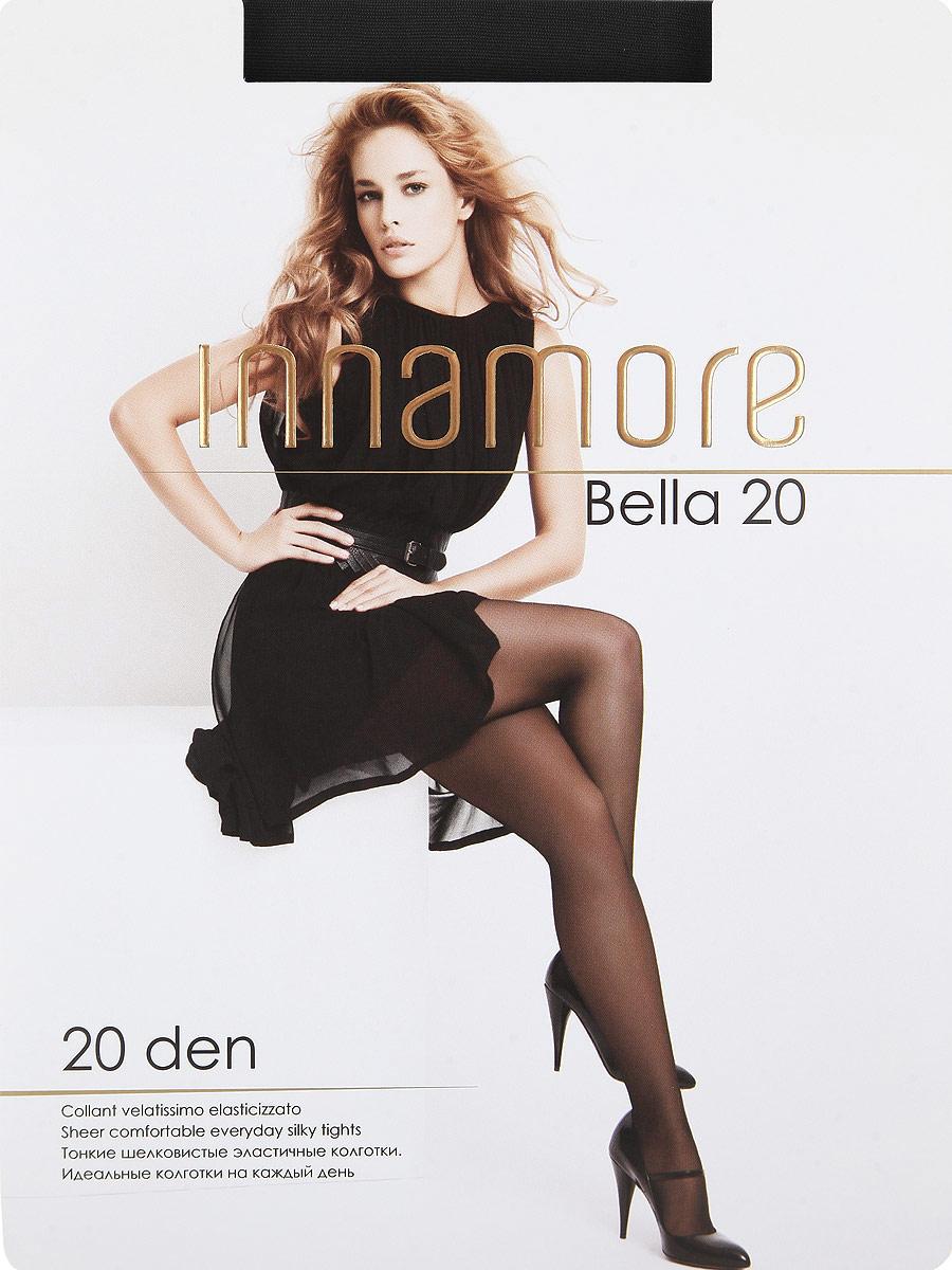 Колготки Innamore Bella 20, цвет: Nero (черный). Размер 5Bella 20Тонкие шелковистые эластичные колготки с шортиками, комфортным поясом, укрепленным прозрачным мыском. Идеальные колготки на каждый день. Плотность: 20 den.