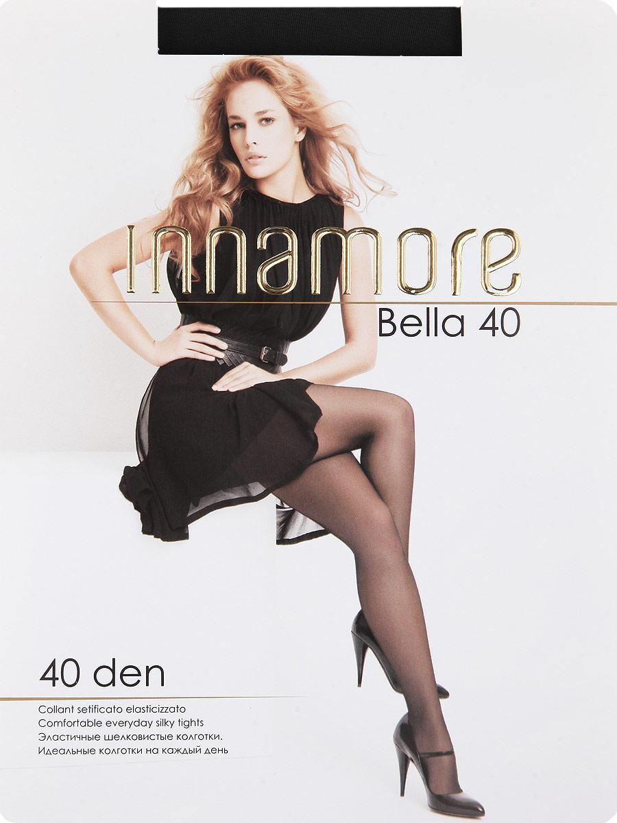 Колготки Innamore Bella 40, цвет: Nero (черный). Размер 4Bella 40Эластичные шелковистые колготки с шортиками, комфортным поясом, укрепленным прозрачным мыском. Идеальные колготки на каждый день. Плотность: 40 den.