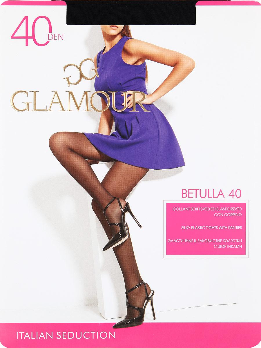 Колготки Glamour Betulla 40, цвет: Nero (черный). Размер