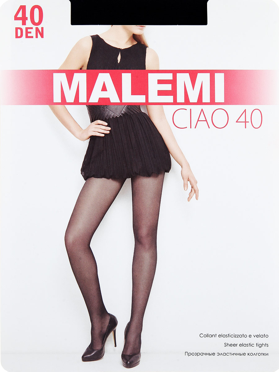 Колготки Malemi Ciao 40, цвет: Nero (черный). Размер 3
