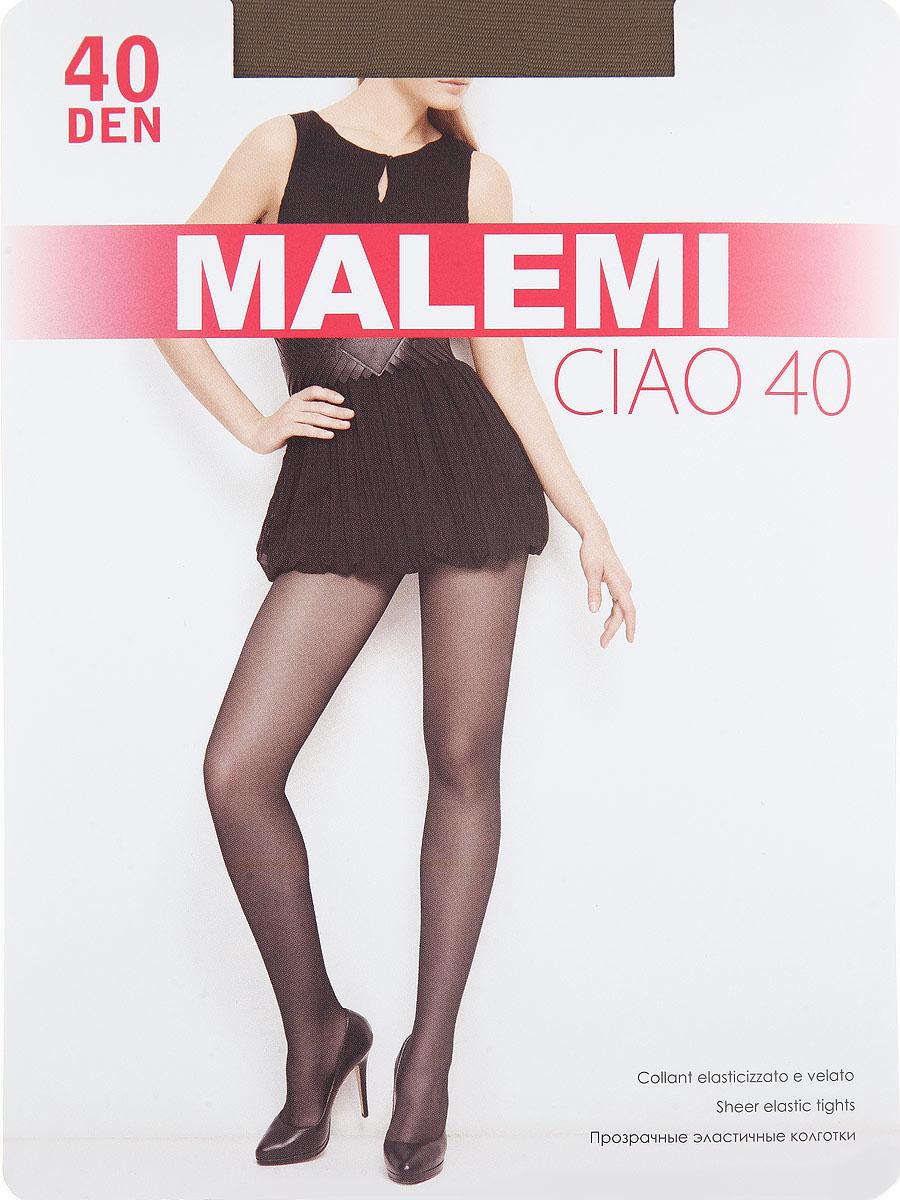 Колготки Malemi Ciao 40, цвет: Daino (загар). Размер 4 колготки giulia bikini размер 3 плотность 40 den daino