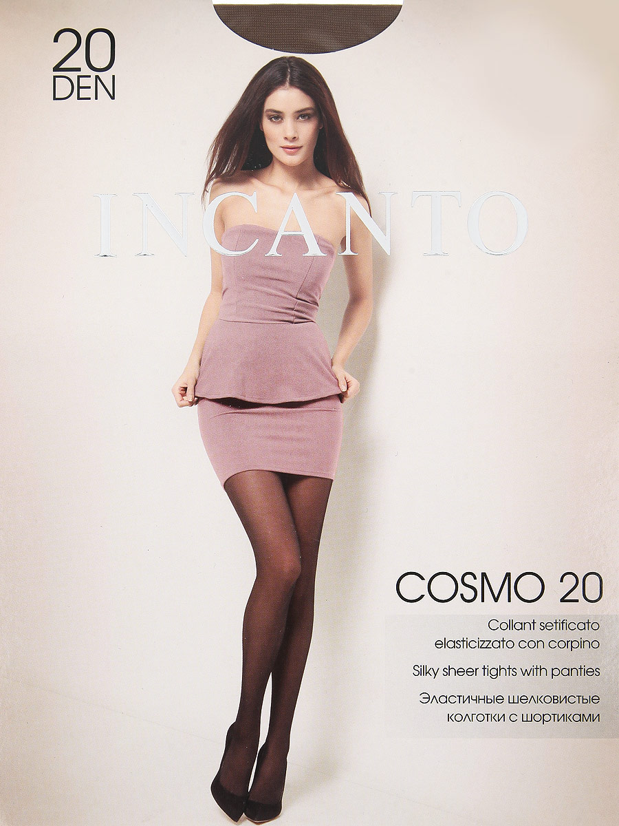 Колготки Incanto Cosmo 20, цвет: Daino (загар). Размер 3 колготки omsa attiva размер 5xl плотность 20 den daino
