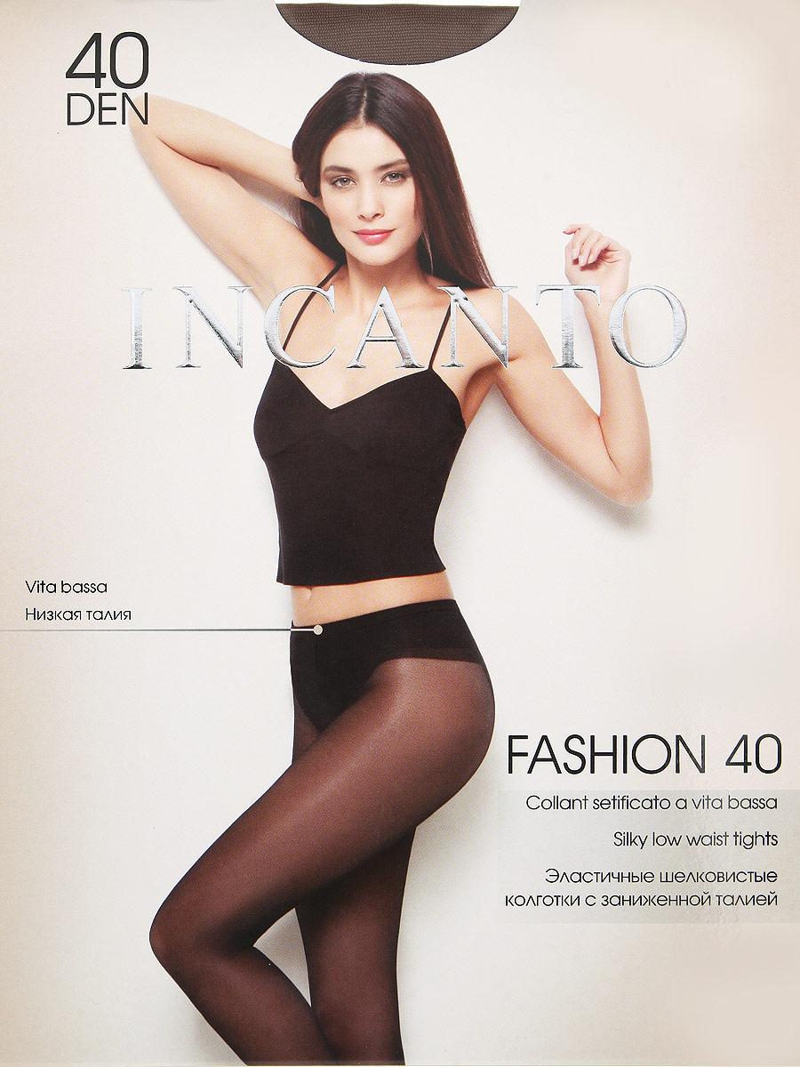 Колготки Incanto Fashion 40, цвет: Daino (загар). Размер 4 колготки contessa cinema by opium lux 40den 5 daino