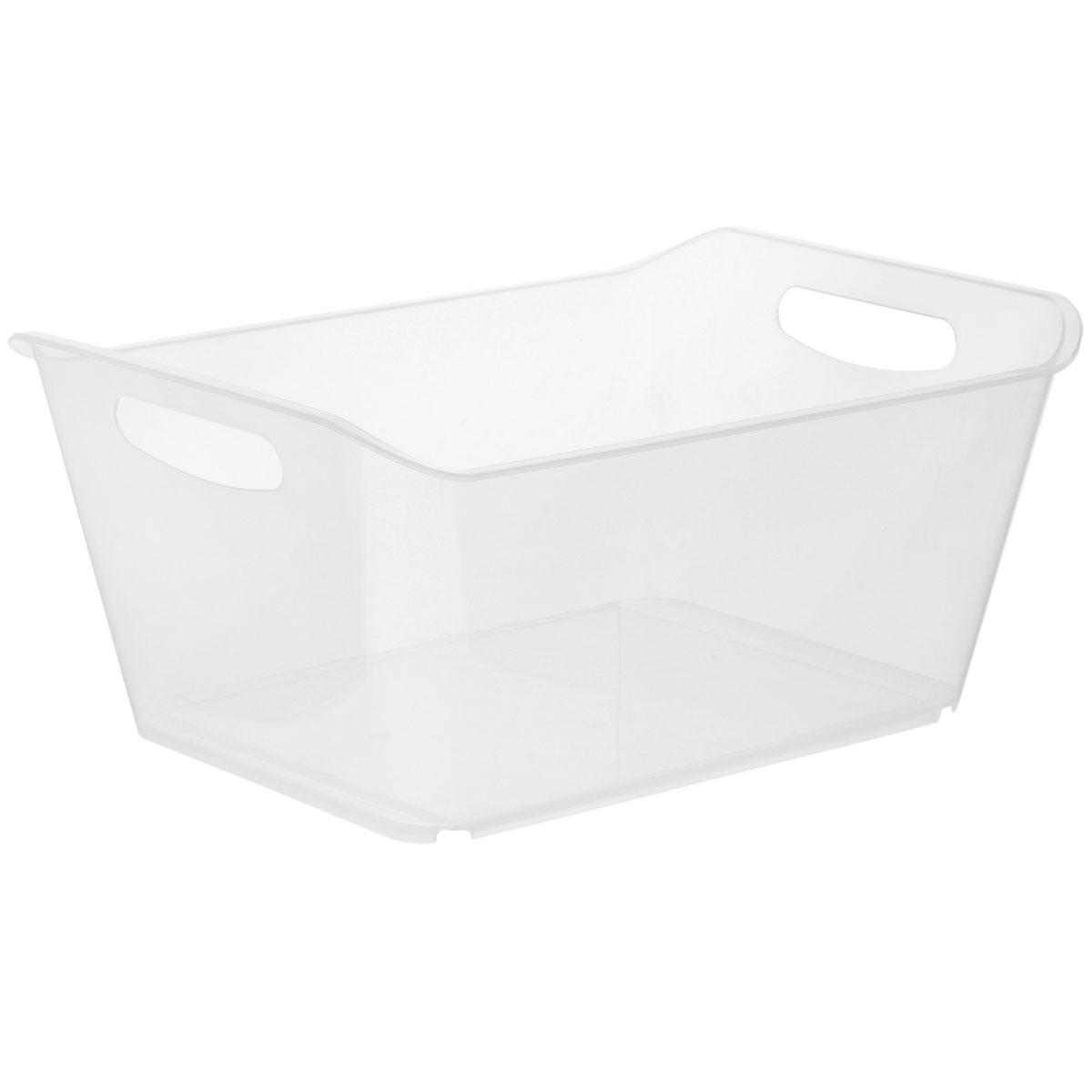 Контейнер Gensini, цвет: прозрачный, 18 л3333_прозрачныйКонтейнер Gensini выполнен из прочного пластика. Он предназначен для хранения различных мелких вещей в ванной, на кухне, даче или гараже, исключая возможность их потери. По бокам контейнера предусмотрены две удобные ручки для его переноски.Контейнер поможет хранить все в одном месте, а также защитить вещи от пыли, грязи и влаги. Объем: 18 л.