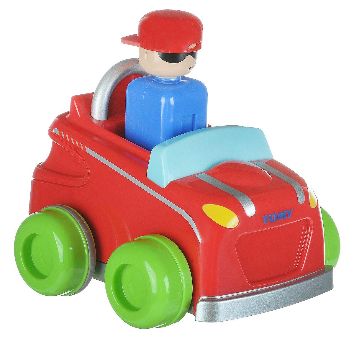 Tomy Машинка Нажимай и гоняй машинка детская tomy с вибрацией и звуком