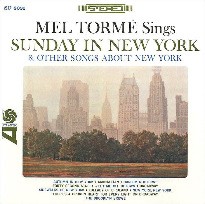 Мел Торме Mel Torme. Sunday In New York And Other Songs About New York inc international concepts new multi bell sleeve printed romper m $79 5 dbfl