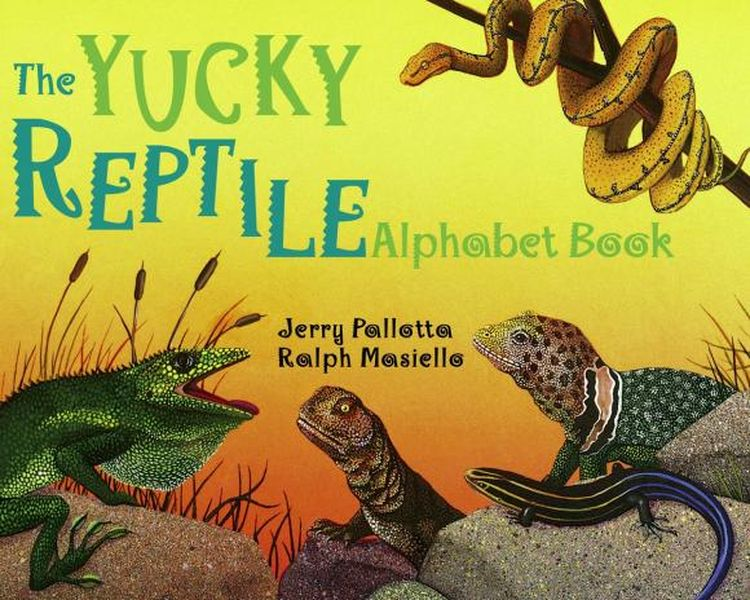 Купить The Yucky Reptile Alphabet Book