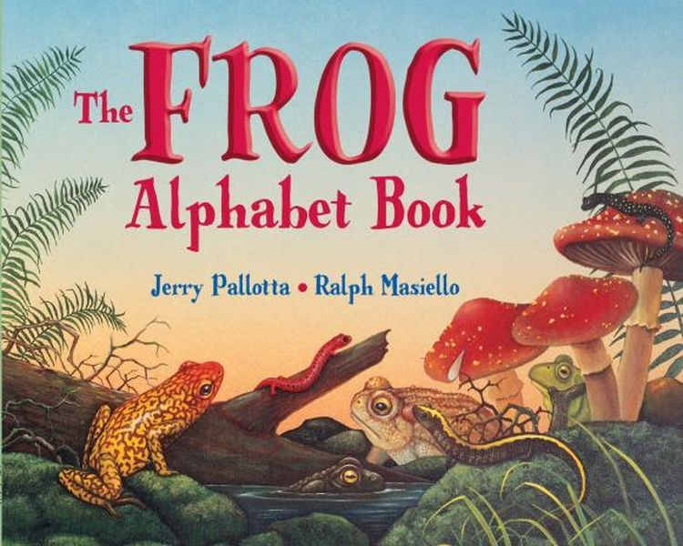 The Frog Alphabet Book ковер kamalak tekstil овальный 60 x 110 см ук 0389