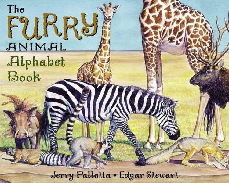 The Furry Animal Alphabet Book jerry pallotta the flower alphabet book