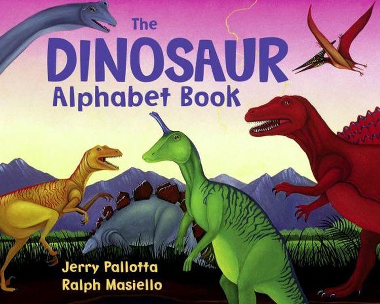 The Dinosaur Alphabet Book jerry pallotta the flower alphabet book