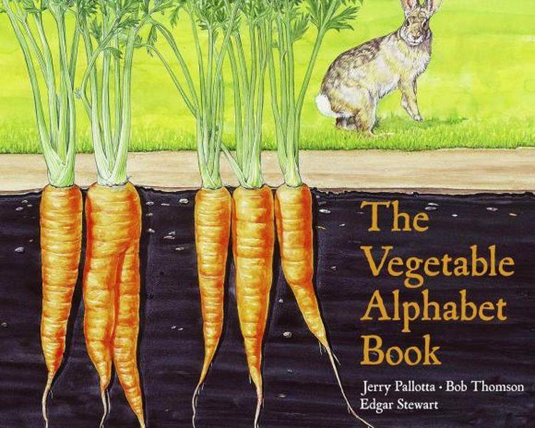 The Vegetable Alphabet Book jerry pallotta the flower alphabet book