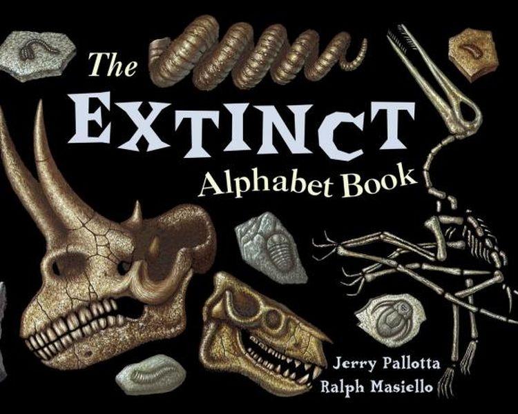 The Extinct Alphabet Book jerry pallotta the flower alphabet book