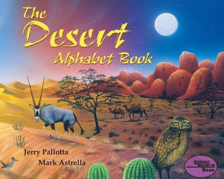 The Desert Alphabet Book my phonics 1 the alphabet student s book учебник