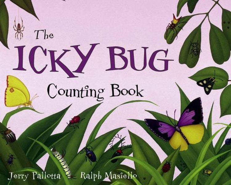 цена на The Icky Bug Counting Book