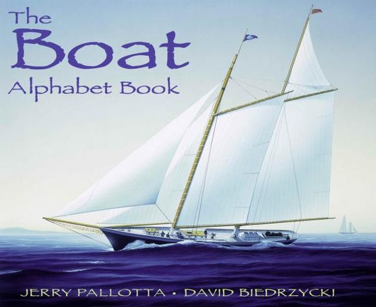 The Boat Alphabet Book girl on the boat