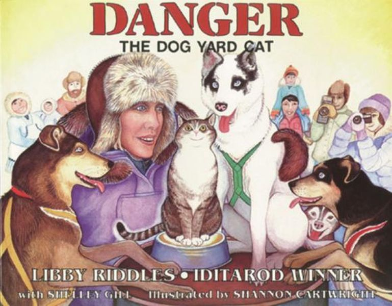Danger the Dog Yard Cat the guard dog