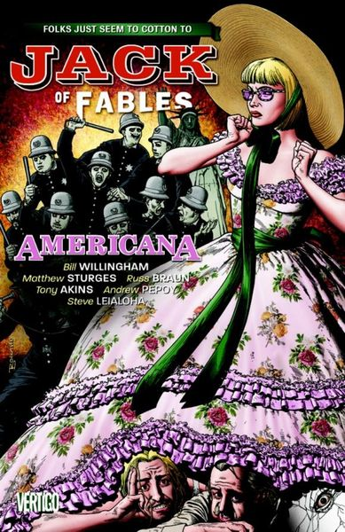Jack of Fables Vol. 4: Americana kenya vol 4