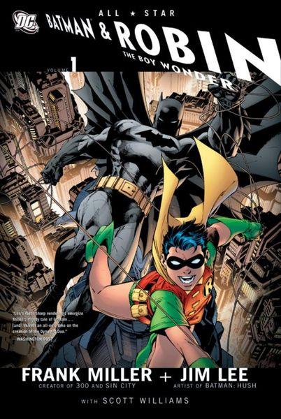 All Star Batman and Robin: The Boy Wonder miller frank batman dkr deluxe