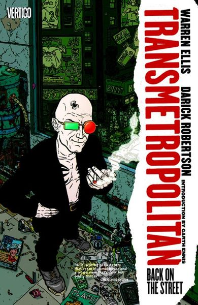 Transmetropolitan Vol. 1: Back on the Street magneto vol 1 infamous