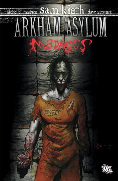 Arkham Asylum: Madness шлёпалка asylum prescription pain paddle