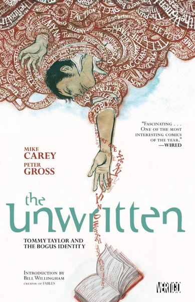 Unwritten Vol. 1: Tommy Taylor and the Bogus Identity the unwritten vol 11