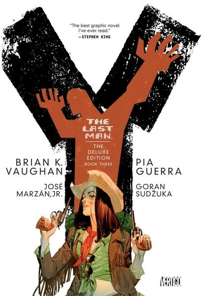 Y the Last Man Deluxe Edition Book Three the invisibles the deluxe edition book four
