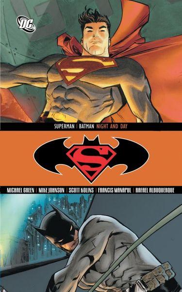 Superman/Batman: Night & Day толстовка wearcraft premium унисекс printio night fury x batman