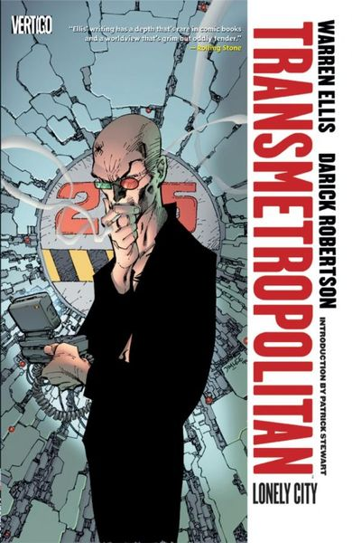 Transmetropolitan: Volume 5: Lonely City the lonely skier